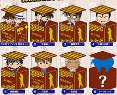 Character in Box Detective Conan Vol.4 Detective Collection (Set of 8) (5,168 yen)