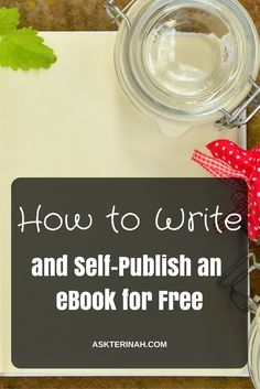 Write your book today and become an Indie author tomorrow. You don't need to pay for anything to be published.