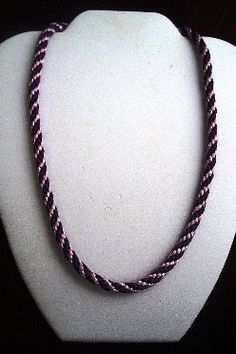 FREE Kuhimiho Round Braided Necklace Tutorial ♥ Join http://www.jewelrymakingprofessormembers.com/public/department14.cfm?affID=janecgy to watch more videos!