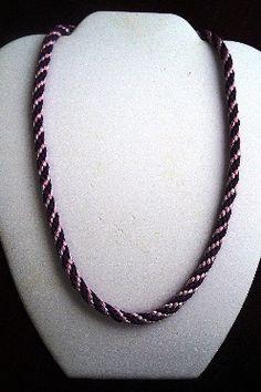 FREE Kuhimiho Round Braided Necklace Tutorial