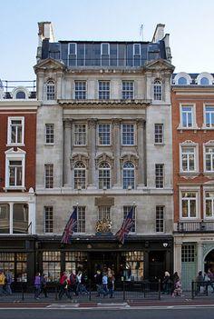 Harchards bookshop, Piccadilly, London - my favourite bookshop