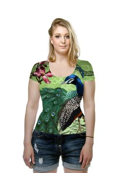 By April Moen. All Over Printed Art Fashion T-Shirt by OArtTee
