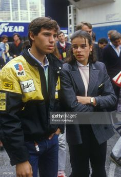 06.02.1984 rok: księżniczka Monako Stephanie i Paul Belmondo