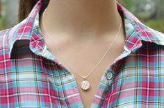 Tiny red Polka dot necklace tiny pendant necklace polka dot jewelry casual jewelry retro jewelry by starlight woods by starlightwoods Pendant Jewelry, Pendant Necklace, Woods, Polka Dots, Etsy Shop, Retro, Trending Outfits, My Style, Unique Jewelry