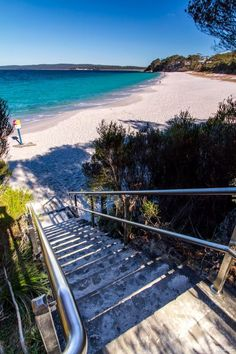 Jervis Bay, New South Wales - AU. The moment I saw the water roll onto the beach in the movie I was watching, I knew one day I would see it in person. Australia Living, Sydney Australia, Australia Travel, Vanuatu, Places To Travel, Places To See, Tasmania, Sydney Beaches, Australian Beach