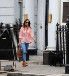 Pin for Later: Pippa Middleton Makes the Shoes You've Got in the Back of Your Closet Look Cool