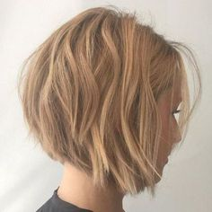 Chin-Length Choppy Bob