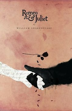 Romeo and Juliet poster, prettiest one I've seen so far, that's why I pinned it.