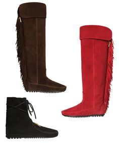 Minnetonka Teams Up with Maje to Create Your New Favorite Fall Boots