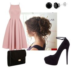 A fashion look from March 2017 featuring fit and flare dress, black shoes and Mansur Gavriel. Browse and shop related looks. Chi Chi, Giuseppe Zanotti, Outfit Ideas, Formal, Polyvore, Stuff To Buy, Outfits, Shopping, Beauty