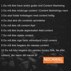 De 10 Content Marketing bud