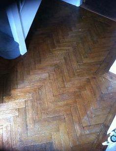 Parquet floor before Art of Clean