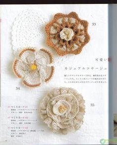 crochet flowers - รัตติกาล สัมมาโพธิ์ - Picasa Web Albums