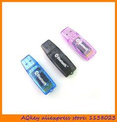 AQkey 10pc USB 2.0 Bluetooth vas 5054a bluetooth vas pc support uds Mini Small bluetooth usb dongle adapter for PC laptop
