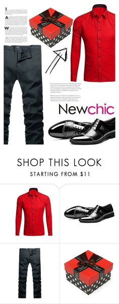 """""""186 newchic"""" by erohina-d ❤ liked on Polyvore featuring men's fashion and menswear"""