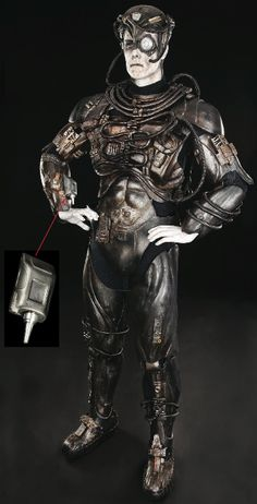 BORG costume from Star Trek the Next Generation