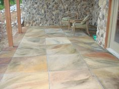 Acid Washed Concrete. Inspirations By Kim   Photo Gallery