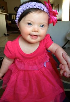 The most beautiful baby in the world..... Who just so happens to have Down Syndrome <3