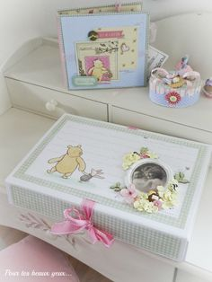 Gift set Winnie the Pooh (album and boxes) - Scrapbook.com