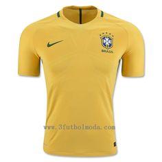 Brasil  2016 Copa America Thai camiseta de futbol,talla S,M,L,XL,gratis dhl envio solo 12-15eur,mas baratos en 3futbolmoda.com