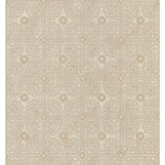 Brewster 56 Sq. Ft. Tin Ceiling Wallpaper 137-44102 at The Home Depot