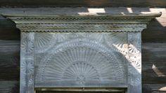 декоративные особенности уральского наличника, как архитектурной детали уральского деревянного дома