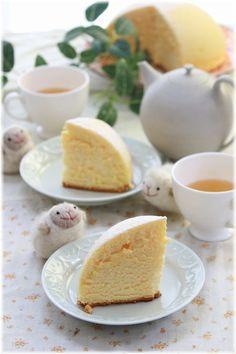 ふわふわチーズドームケーキ。 | よめ膳@YOMEカフェ