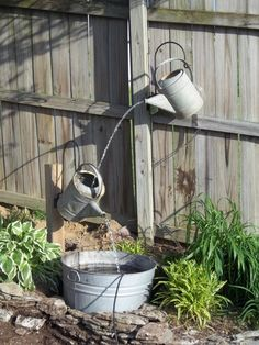 25 Awesome Handmade Outdoor Fountains