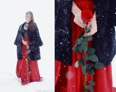 As belas fotografias fashion com um toque de contos de fadas de Evgenia Galan