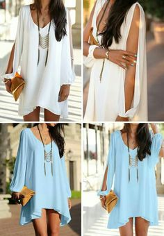 Outfits for beach Daily Look, Stitch Fix, Casual Dresses, Cool Outfits, Cover Up, White Dress, Girly, Tunic Tops, Product Description