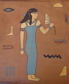 Do Art!: Draw Like an Egyptian-art project