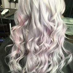 So in love with this #summerlook #pastel #pinkhair #greyshades #longhair #hairwaves #hairgoals #salonvibes #happyhairhappylife Ash Blonde, Summer Looks, Pink Hair, Hair Goals, Salons, Pastel, Long Hair Styles, Beauty, Rosa Hair