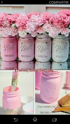 Jars decoration