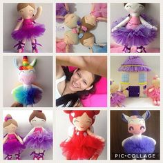 Esta soy yo y esto lo que amo hacer  #artvsartist  This is me and this what I love doing  #dollmaker #handmadedoll #crafts #hechoamano #plush #bailarinas #ballerina #dolls #unicorn #yenidolls