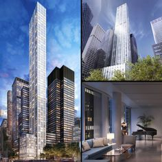 skyscrapers, 100 east 53rd street, norman foster, seagram building, 100e53, rfr realty, 100 east 53rd street exterior, 100 east 53rd street rendering, 100 east 53rd street interior, new york architecture, nyc skyscrapers, luxury residential, residential skyscraper, new york's super-slenders, slender skyscrapers