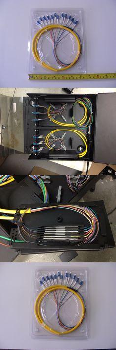 12 Strand 9//125 Fiber Optic Pigtail 3m LC//UPC Single Mode 0774