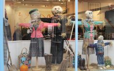 Scarecrow window display by Seasalt window team.