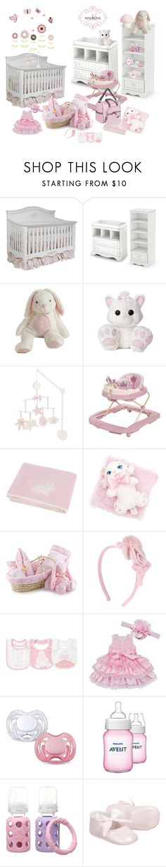 """""""Baby's Nursery"""" by lorrainekeenan ❤ liked on Polyvore featuring interior, interiors, interior design, home, home decor, interior decorating, AFK, South Shore, Tartine et Chocolat and Emoi"""