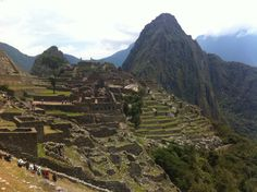 Machu Picchu, you have to see it for yourself.