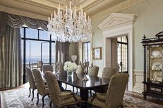the chandelier brings it all together | sfa design