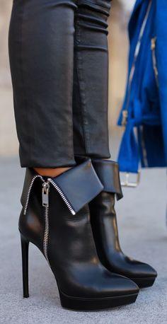 Saint Laurent Janis Boots by Vivaluxury - Fashion Jot- Latest Trends of Fashion