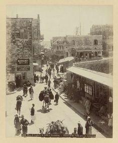 S 6. De Jaffapoort. Jeruzalem, ca. 1895 - ca. 1915