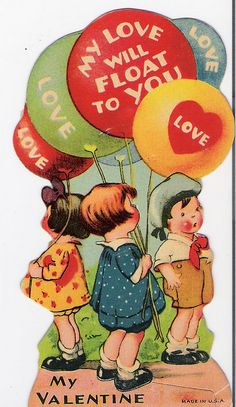 Country Gentleman Magazine - February 1938 After my love for the kitchen theme Valentine cards had passed. I started looking for co. My Funny Valentine, Valentine Images, Valentines Greetings, Vintage Valentine Cards, Vintage Greeting Cards, Vintage Holiday, Valentine Crafts, Valentine Day Cards, Vintage Postcards