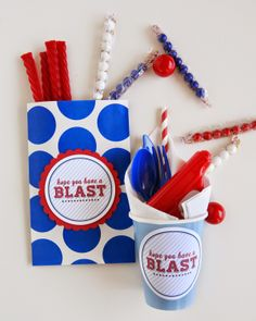 Fourth of July | Hope You Have A BLAST printable tags @eighteen25