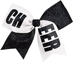 Let your spirit sparkle with a cheer bow that's half ribbon, half glitter fabric and all CHEER. Shop the CHEER hair bow in your team colors to show your spirit. Cheerleading Hair Bows, Cheer Hair Bows, Ribbon Hair Bows, Bow Hair Clips, Competition Hair, Hair Bow Supplies, Toddler Hair Bows, Glitter Fabric, Glitter Hair