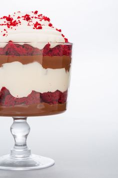 Give yourself the gift of a next-level red velvet cake. Get the recipe from Delish.   - Delish.com