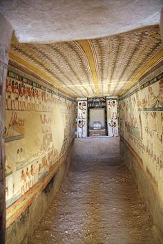 tumba de Menna TT69 , Sheikh abd el-Qurna , Luxor , Valle de los Nobles .Escriba Menna , Reinado de Tutmosis IV