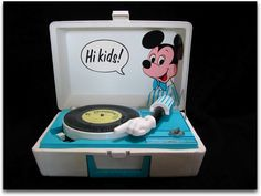Mickey Mouse Record Player... I have this lmao
