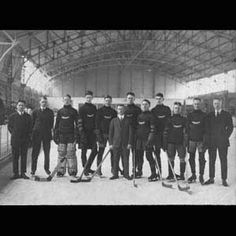 1920 - Winnipeg Falcons, representing Canada, win the first-ever Olympic gold medal in ice hockey Hockey Teams, Ice Hockey, Olympic Gold Medals, Toronto Maple Leafs, Winter Olympics, Popular Culture, Vintage Photography, Old Pictures, The Past