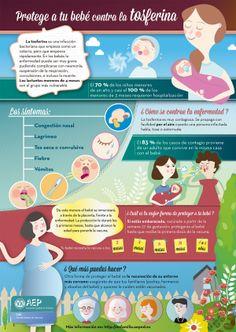 #Infografia Protege a tu bebé de la tosferina via @AEP_EnFamilia